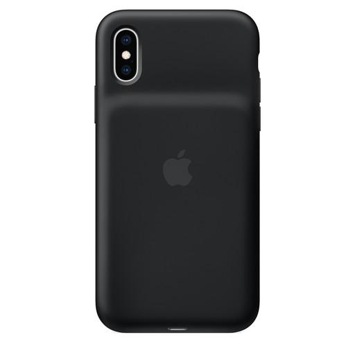 Apple(アップル)純正 iPhone XS(5.8インチ)Smart Battery Case スマートバッテリーケース [Qiワイヤレス充電対応](ブラック)MRXK2ZA/A MRXK2ZAA