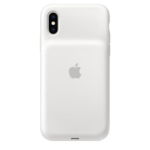 Apple(アップル)純正 iPhone XS(5.8インチ)Smart Battery Case スマートバッテリーケース [Qiワイヤレス充電対応](ホワイト)MRXL2ZA/A MRXL2ZAA