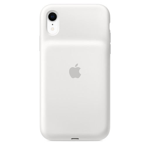 Apple(アップル)純正 iPhone XR(5.8インチ)Smart Battery Case スマートバッテリーケース [Qiワイヤレス充電対応](ホワイト)MU7N2ZA/A MU7N2ZAA