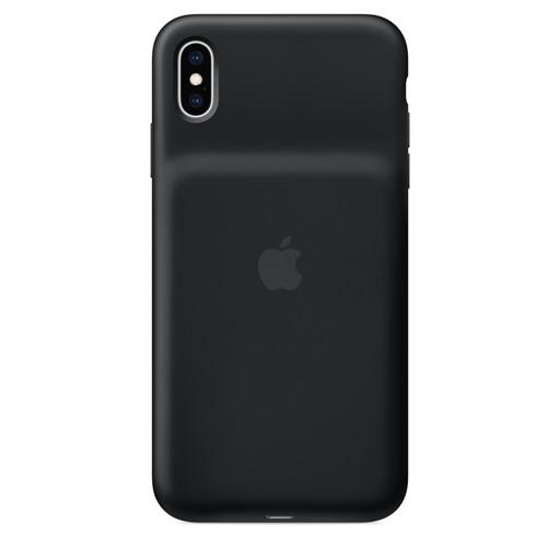 Apple(アップル)純正 iPhone XS Max(6.5インチ)Smart Battery Case スマートバッテリーケース [Qiワイヤレス充電対応](ブラック)MRXQ2ZA/A MRXQ2ZAA