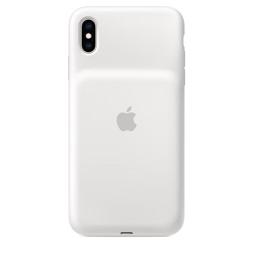 Apple(アップル)純正 iPhone XS Max(6.5インチ)Smart Battery Case スマートバッテリーケース [Qiワイヤレス充電対応](ホワイト)MRXR2ZA/A MRXR2ZAA