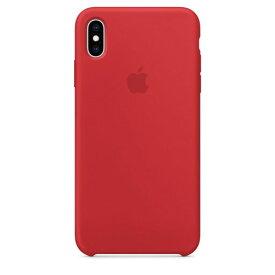 Apple(アップル)純正 iPhone XS Max(6.5インチ)シリコーンケース (PRODUCT)RED レッド MRWH2FE/A MRWH2FEA