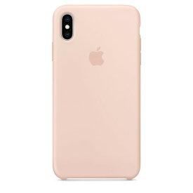 Apple(アップル)純正 iPhone XS Max(6.5インチ)シリコーンケース ピンクサンド MTFD2FE/A MTFD2FEA