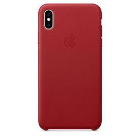 Apple(アップル)純正 iPhone XS Max(6.5インチ)レザーケース (PRODUCT)RED レッド MRWQ2FE/A MRWQ2FEA