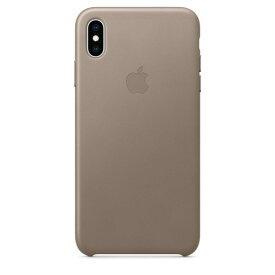 Apple(アップル)純正 iPhone XS Max(6.5インチ)レザーケース トープ MRWR2FE/A MRWR2FEA