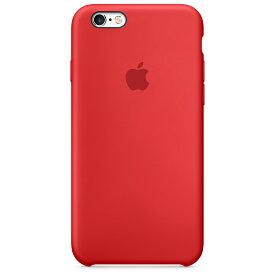 Apple(アップル)純正 iPhone 6/6s(4.7インチ)シリコーンケース レッド (PRODUCT)RED MKY32FE/A MKY32FEA