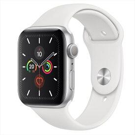Apple Watch Series 5(GPSモデル)44mmシルバーアルミニウムケースとスポーツバンド MWVD2J/A アップルウォッチ シリーズ5