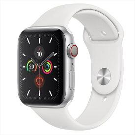 Apple Watch Series 5(GPS + Cellularモデル)44mmシルバーアルミニウムケースとスポーツバンド MWWC2J/A アップルウォッチ シリーズ5