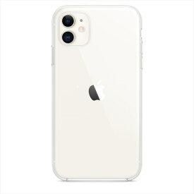 Apple(アップル)純正 iPhone 11(6.1インチ)クリアケース ハード 保護ケース 国内正規品 MWVG2FE/A