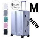 【2015新モデル登場!】スーツケースMサイズ一年間保証中型4〜7日用TSAロック搭載超軽量キャリーケース軽量キャリーバッグフレーム4輪キャリーバックかわいい旅行かばんビジネスバックT2026