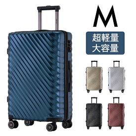 スーツケース Mサイズ 超軽量キャリーバッグ キャリーケース ファスナー TSAロック搭載 おしゃれ 3日-7日 中型 新作登場 キャッシュレス5%還元 suitcase Merax HYX6121