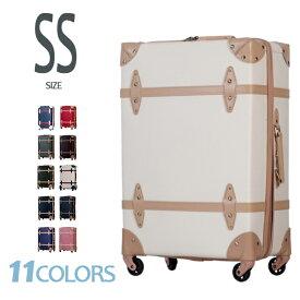 【スーパーセール限定価格!!】キャリーケース 機内持ち込み トランク スーツケース キャリーバッグ SSサイズ 一年間保証 TSAロック搭載 1日〜3日用 レトロ 小型 キャッシュレス5%還元 suitcase TANOBI FUPP01
