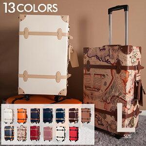 【10%OFFクーポン!】Lサイズ キャリーケース トランクスーツケース 女性 キャリーバッグ かわいい一年間保証 大型 軽量 旅行用品 suitcase FUPP03