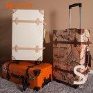 スーツケース機内持ち込み小型一年間保証送料無料1-3泊対応Sサイズトランクキャリーケーストランクケーストランクキャリーキャリーケーストランクケース旅行用かばんキャリーバッグ超軽量軽量かわいい4輪PVC01【即納】