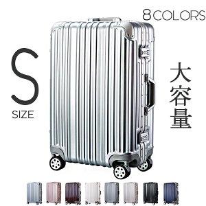 機内持ち込み可 軽量 スーツケース 女性 キャリーケース Sサイズ かわいい キャリーバッグ フレームタイプ 一年間保証 TSAロック搭載 1日 2日 小型 suitcase T1169 値引