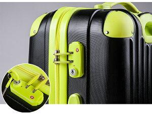 【送料無料★1年間保証】スーツケース機内持ち込み可小型SSサイズTSAロック搭載軽量2日3日ファスナーキャリーケースキャリーバッグかわいい4輪ABS8036