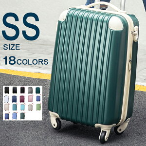【10%OFFクーポン!】機内持ち込み キャリーケース スーツケース 女性 SSサイズ キャリーバッグ かわいい TSAロック搭載 小型 2日 3日 1年間保証 suitcase Travelhouse T8088 トラベルハウス
