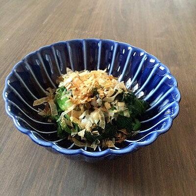 ぎやまん・三寸小鉢 ( 茄子紺 )和食器/業務用/贈り物/お皿 おしゃれ/カフェ 食器