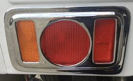 新製品! 軽トラ スズキ NEWキャリイ (キャリー)/スーパーキャリイ 日産 NT100クリッパー 三菱 ミニキャブ 共通 リアテールカバー 丸形 (R&L) カスタム パーツ