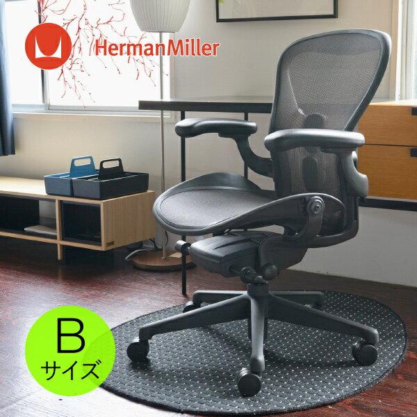アーロンチェア リマスタード ポスチャーフィットSLフル装備 Bサイズ グラファイトフレーム グラファイトベース BBキャスター [AER1B23DW ALP G1 G1 G1 BB BK 23103]HermanMiller(ハーマンミラー)