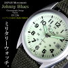 Johnny Blues约翰尼布鲁斯军事人表日本制造运动使用手表EV 236