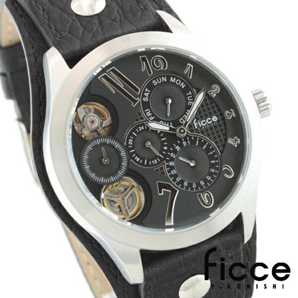 Ficce腕時計 メンズ腕時計 本格マルチファンクションウォッチ FC-11051-01 送料無料