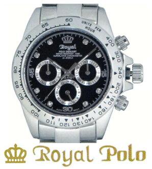 ROYAL POLO RW-505D全2色★自动卷多功能型★人手表