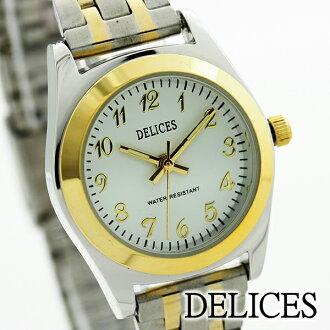 乐天超级销售 / 易读的超级 /SALE DELICES 手表拨 DE126-01 女士