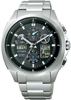 居民西铁城手表menzuatessa ATTESA ATV53-3022国内正规的物品