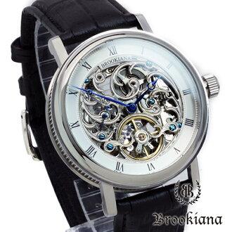burukkiana BROOKIANA手錶骨架自動卷BA1654-SV
