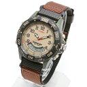 TIMEX EXPEDITION COMBO タイメックス エクスペディション コンボ 腕時計 メンズ レディース ミリタリー 茶色 ブラウン T45181