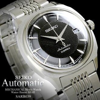精工男式手錶機械力學機械 SARB039 精工 FS_708