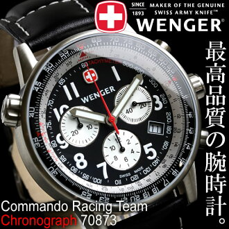男子的Wenger手表コマンドクロノレーシングチーム70873 WENGER