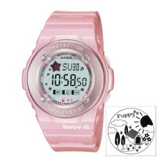 卡西欧卡西欧宝贝-g 小狗宝宝 G 系列小狗 BG-1300PP-4 粉红色海外模型