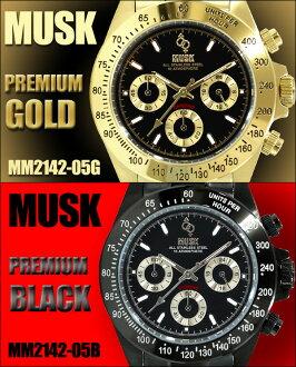 MUSK麝香手錶計時儀人表mm-2142-05
