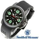 [正規品] スミス&ウェッソン Smith & Wesson ミリタリー腕時計 AMPHIBIAN COMMANDO BLACK SWW-1100 [あす楽] [送料無料] [雑誌掲載ブランド]