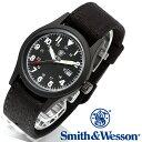 [正規品] スミス&ウェッソン Smith & Wesson ミリタリー腕時計 MILITARY WATCH BLACK SWW-1464-BK [あす楽] [ラッピ…