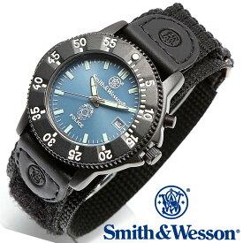 [正規品] スミス&ウェッソン Smith & Wesson ミリタリー腕時計 455 POLICE WATCH BLUE/BLACK SWW-455P [あす楽] [送料無料] [雑誌掲載ブランド]