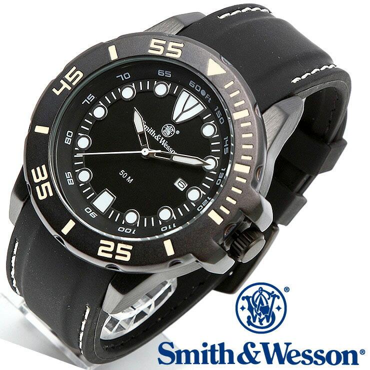 [正規品] スミス&ウェッソン Smith & Wesson ミリタリー腕時計 SCOUT WATCH WHITE/BLACK SWW-582-WH [あす楽] [ラッピング無料] [送料無料] [雑誌掲載ブランド]