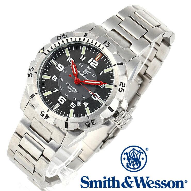 [正規品] スミス&ウェッソン Smith & Wesson スイス トリチウム ミリタリー腕時計 EMISSARY WATCH SILVER SWISS TRITIUM SWW-88-S [あす楽] [ラッピング無料] [送料無料] [雑誌掲載ブランド]