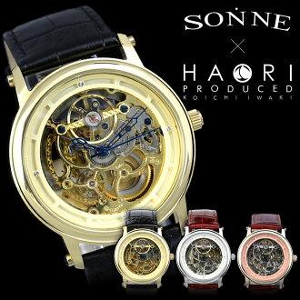 自动拧SONNE×HAORI PRODUCED KOICHI IWAKI限定协作表,并且是男子腕時計岩城滉一h002