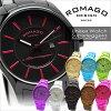 羅姆人去設計 ROMAGO 設計手錶中性手錶雜誌 s 品牌