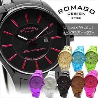 romagodezain ROMAGO DESIGN手表男女两用表杂志刊登名牌