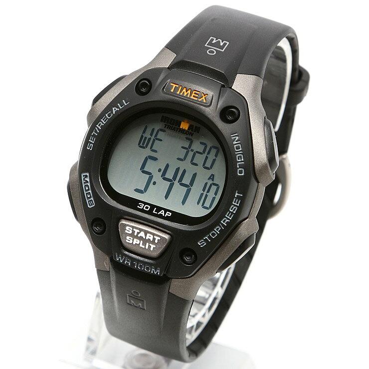 TIMEX タイメックス 腕時計 T5E901 IRONMAN 30LAP / アイアンマン 30ラップ ミリタリーウォッチ メンズ レディース 時計 デジタル ミリタリー カジュアル ランニングウォッチ マラソン ウォーキング インディグロナイトライト搭載