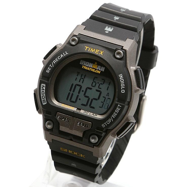 TIMEX タイメックス 腕時計 T5K195 IRONMAN 30LAP / アイアンマン 30ラップ ミリタリーウォッチ メンズ レディース 時計 デジタル ミリタリー カジュアル ランニングウォッチ マラソン ウォーキング インディグロナイトライト搭載