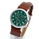 TIMEX タイメックス 腕時計 TW2P97400 WEEKENDER / ウィークエンダー クロノグラフ ミリタリーウォッチ メンズ レディース 時計 アナログ ミリタリー カジュアル ブラウン