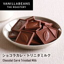 バニラビーンズ ショコラカレ トリニダミルク チョコレート 板チョコレート クーベルチュール クラフトチョコ Bean to…
