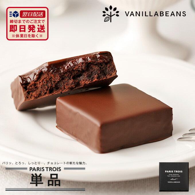 バニラビーンズ パリトロ単品 チョコレート ギフト プチチョコレートケーキ【あす楽】【VB】