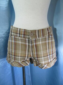 ☆Tax-included cat POS shipment ☆ Forever 21 forever 21 short pants brown m279-20