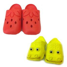 ファニー サンダル キッズ いちご ワニ 4サイズ クロッグ 子供 通販 15cm 16cm 17cm 子供 靴 サンダル キッズ 動物 かわいい ベビー イチゴ かわいい 女の子 男の子
